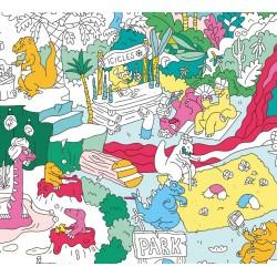 Coloriage Maxi Poster...