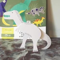 6 Dinosaures à Assembler et...