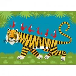 """Puzzle 24 pièces """"Le Tigre""""..."""