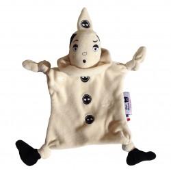 Doudou Pierrot en coton bio