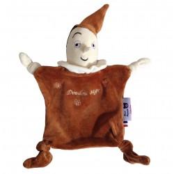 Doudou Pinocchio en coton bio