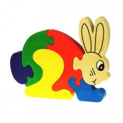 Puzzle Vertical Lapin - 6...