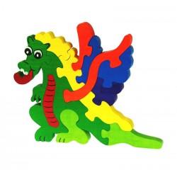 Puzzle Vertical Dragon - 12...