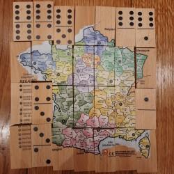 Dominos + Puzzle Carte de...