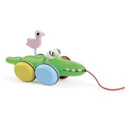 Croc & Odile - Jouet à Trainer