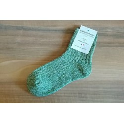 """Chaussettes """"Funny"""" Vertes..."""