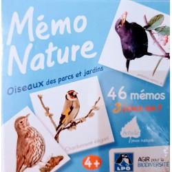 Mémo Nature oiseaux des...