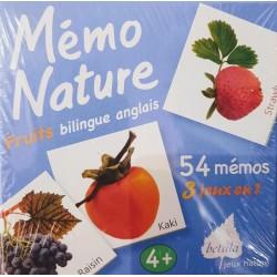 "Mémo Nature ""Fruits""..."