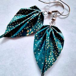Boucles d'oreilles Origami...