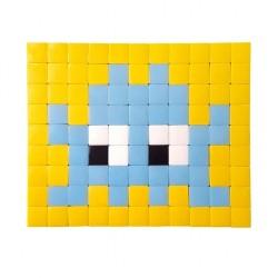 Mosaïque décorative INVADER - Fenel & Arno - Bleu