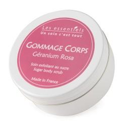 Gommage Corps au Géranium Rosa