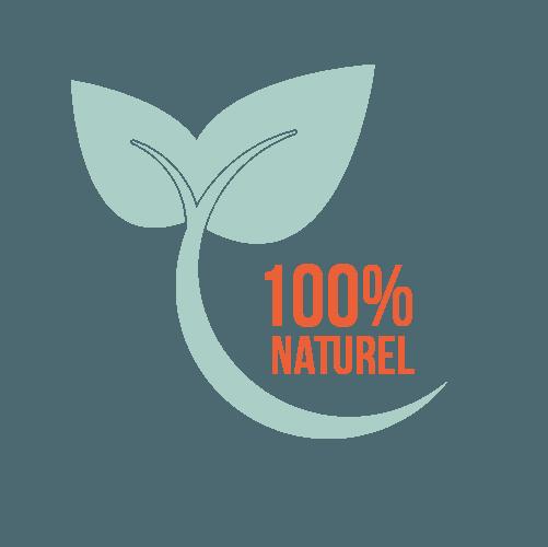 100% naturels